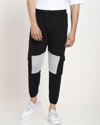 Shop Men's Plain Cut N Sew Jogger with Pocket-Front