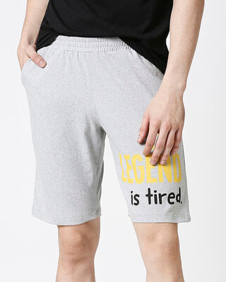 Shop Men's Printed Lounge Shorts-Front