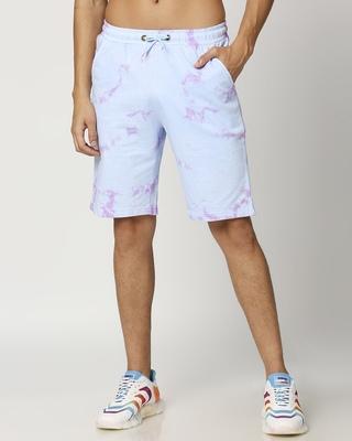 Shop Men's Tie & Dye Printed Shorts-Front
