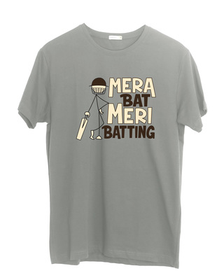 Shop Mera Bat Half Sleeve T-Shirt-Front