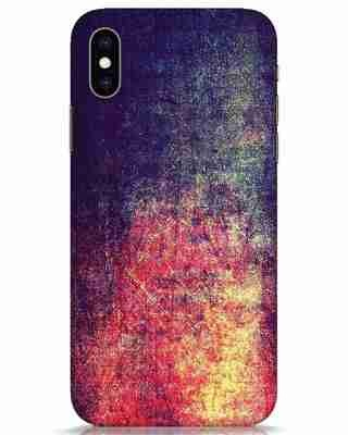 Shop Metal Colors iPhone XS Mobile Cover-Front