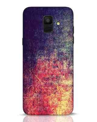 Shop Metal Colors Samsung Galaxy A6 2018 Mobile Cover-Front
