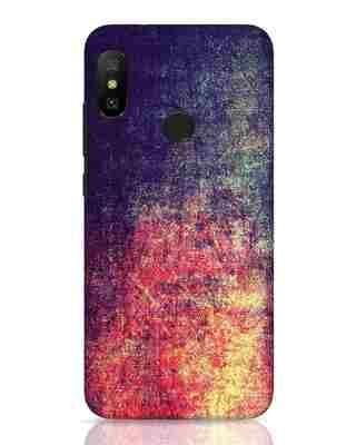 Shop Metal Colors Xiaomi Redmi 6 Pro Mobile Cover-Front