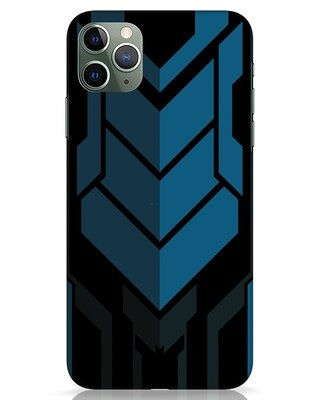 Shop Metal Gear Blue iPhone 11 Pro Max Mobile Cover-Front