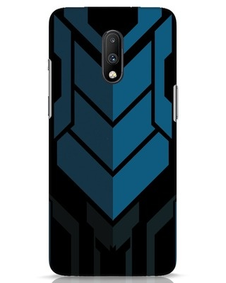 Shop Metal Gear Blue OnePlus 7 Mobile Cover-Front