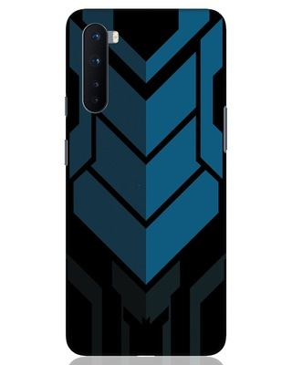 Shop Metal Gear Blue OnePlus Nord Mobile Cover-Front