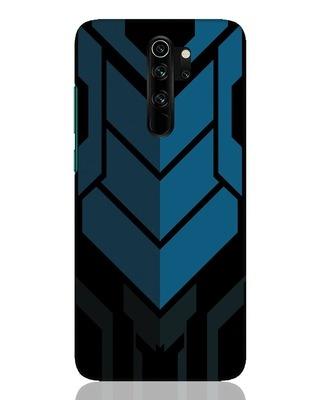 Shop Metal Gear Blue Xiaomi Redmi Note 8 Pro Mobile Cover-Front