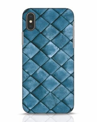 Shop Metal Scales iPhone X Mobile Cover-Front