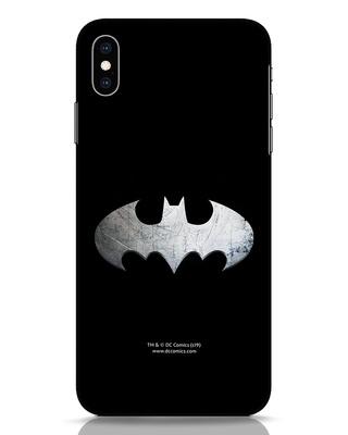 Shop Metallic Batman iPhone XS Max Mobile Cover (BML)-Front