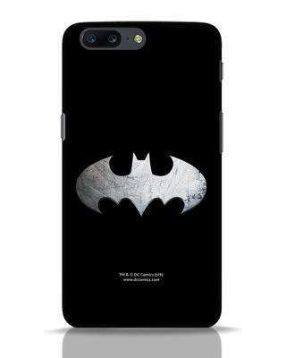 Shop Metallic Batman OnePlus 5 Mobile Cover (BML)-Front