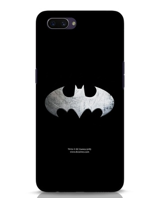 Shop Metallic Batman Oppo A3S Mobile Cover (BML)-Front