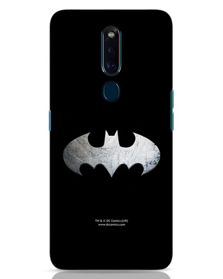 Shop Metallic Batman Oppo F11 Pro Mobile Cover (BML)-Front