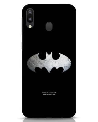 Shop Metallic Batman Samsung Galaxy M20 Mobile Cover (BML)-Front