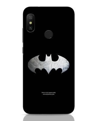 Shop Metallic Batman Xiaomi Redmi 6 Pro Mobile Cover (BML)-Front