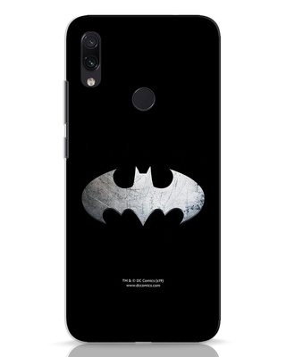 Shop Metallic Batman Xiaomi Redmi Note 7 Mobile Cover (BML)-Front
