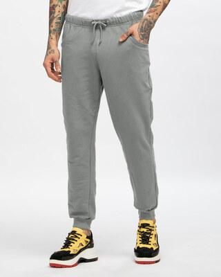 Shop Meteor Grey Men's Jogger-Front