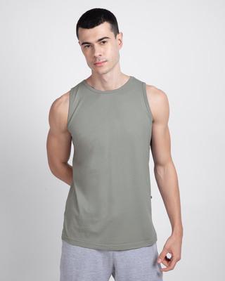 Shop Meteor Grey Vest-Front