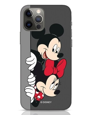 Shop Mickey And Minnie iPhone 12 Pro Max Mobile Cover-Front