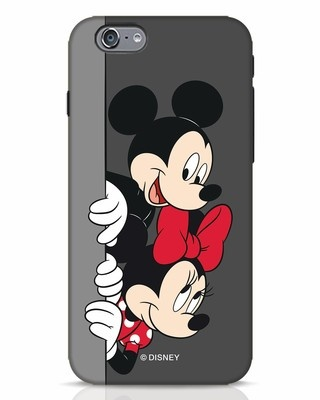 Shop Mickey And Minnie iPhone 6 Mobile Cover-Front