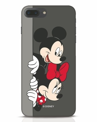 Shop Mickey And Minnie iPhone 7 Plus Mobile Cover-Front