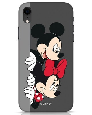 Shop Mickey And Minnie iPhone XR Mobile Cover-Front