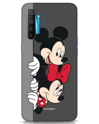 Shop Mickey And Minnie Realme XT Mobile Cover-Front