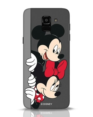 Shop Mickey And Minnie Samsung Galaxy J6 Mobile Cover-Front