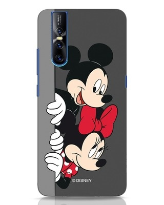 Shop Mickey And Minnie Vivo V15 Pro Mobile Cover-Front