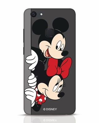 Shop Mickey And Minnie Vivo V7 Plus Mobile Cover-Front