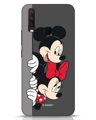 Shop Mickey And Minnie Vivo Y17 Mobile Cover-Front