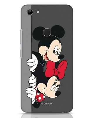 Shop Mickey And Minnie Vivo Y81 Mobile Cover-Front