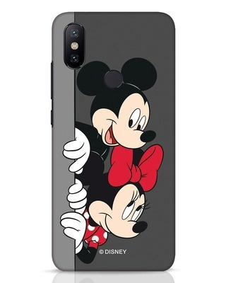 Shop Mickey And Minnie Xiaomi Mi A2 Mobile Cover-Front