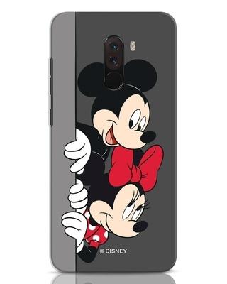 Shop Mickey And Minnie Xiaomi POCO F1 Mobile Cover-Front