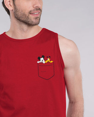 Shop Mickey And Pluto Vest (DL)-Front