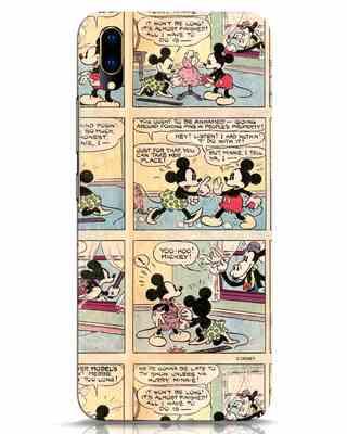 Shop Mickey Comic Vivo V11 Pro Mobile Cover (DL)-Front