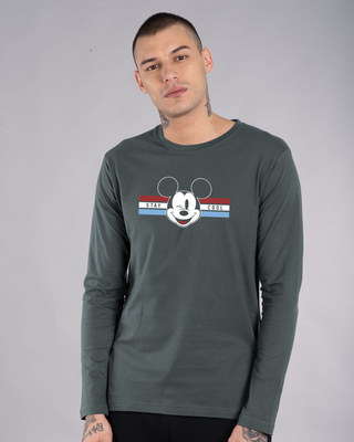 Shop Mickey Cool Full Sleeve T-Shirt (DL)-Front