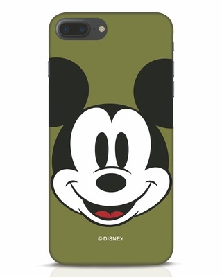 Shop Mickey Face iPhone 7 Plus Mobile Cover-Front