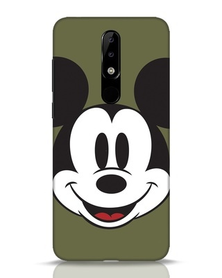 Shop Mickey Face Nokia 5.1 Plus Mobile Cover-Front