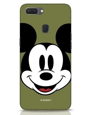 Shop Mickey Face Realme 2 Mobile Cover-Front