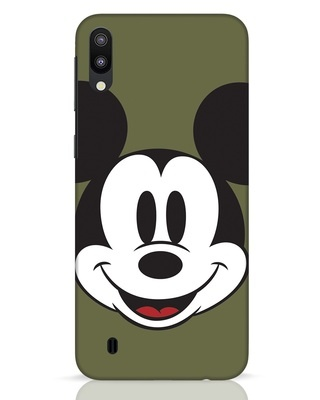 Shop Mickey Face Samsung Galaxy M10 Mobile Cover-Front
