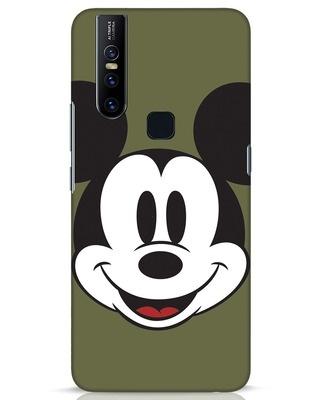 Shop Mickey Face Vivo V15 Mobile Cover-Front