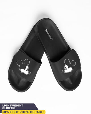 Shop Mickey Face Vs Mickey Face Lightweight Adjustable Strap Women Slider-Front