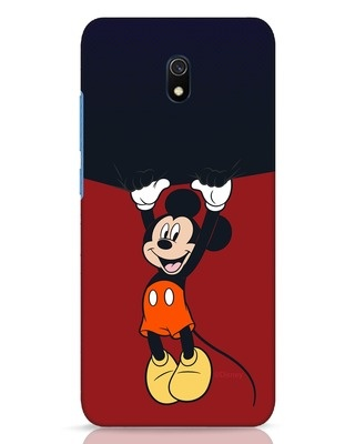 Shop Mickey Hangin Xiaomi Redmi 8A Dual Mobile Cover (DL)-Front