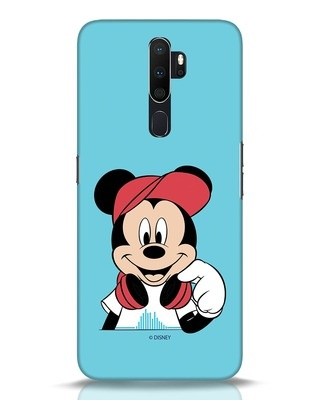 Shop Mickey Music Oppo A5 2020 Mobile Cover (DL)-Front