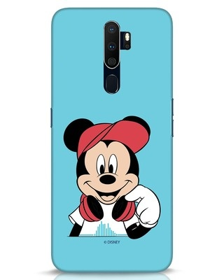 Shop Mickey Music Oppo A9 2020 Mobile Cover (DL)-Front