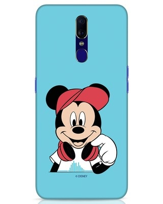 Shop Mickey Music Oppo F11 Mobile Cover (DL)-Front