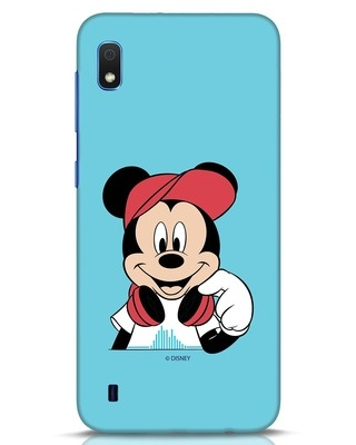 Shop Mickey Music Samsung Galaxy A10 Mobile Cover (DL)-Front