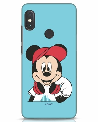 Shop Mickey Music Xiaomi Redmi Note 5 Pro Mobile Cover (DL)-Front
