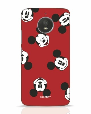 Shop Mickey Pattern Moto E4 Plus Mobile Cover-Front