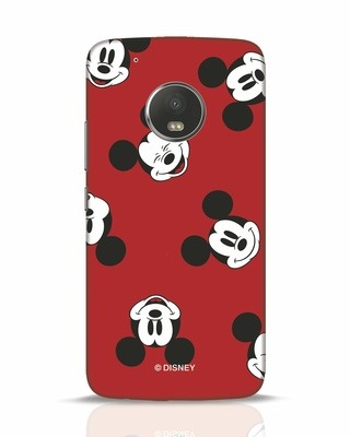Shop Mickey Pattern Moto G5 Plus Mobile Cover-Front